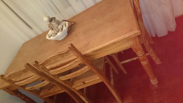 Muebles country para comedor