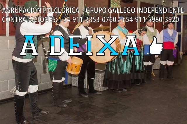 Show de gaitas y danzas tradicionales gallegas