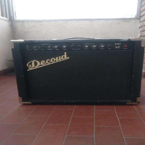 Vendo amplificador multiple decoud mo40 de 40 w