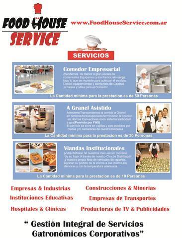 Viandas, servicios de viandas para empresas