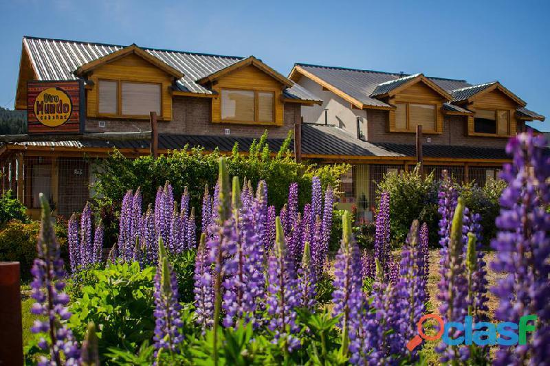 Cabañas otro mundo en junin de los andes complejo de alquiler turistico familiar