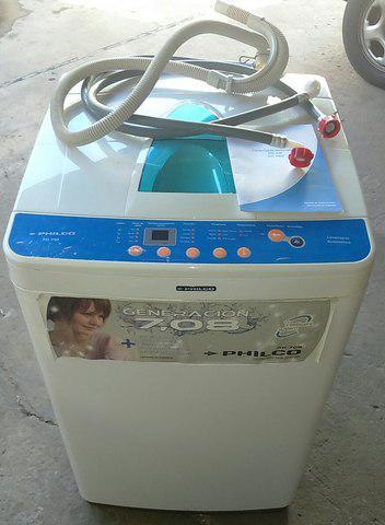 Lavarropa automático.
