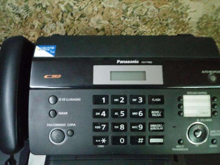 Fax - telefax panasonic kx ft982 impecable