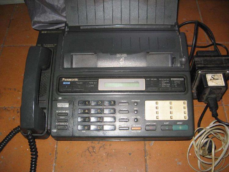 Fax y telefono panasonic f 130 en perfecto estado.