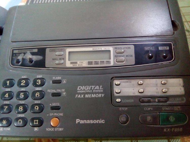 Fax panasonic kxf850