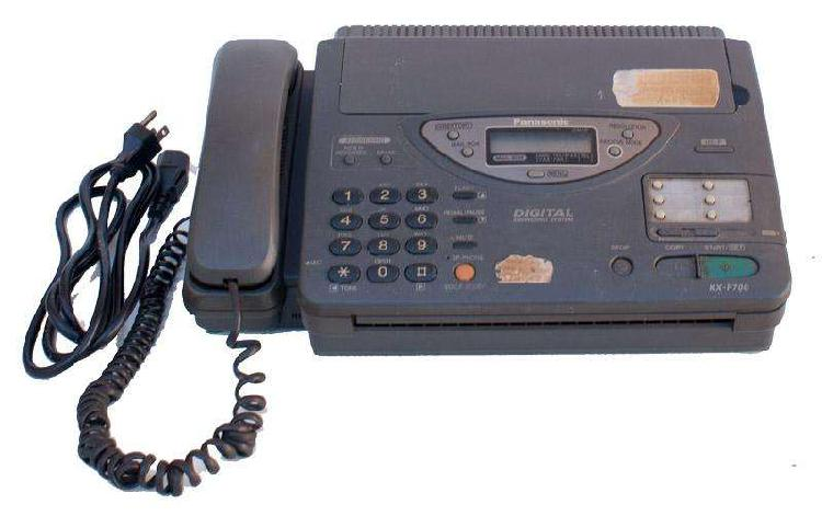 Fax panasonic modelo kx f 7000