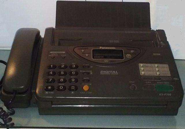 Fax/ Tel Panasonic Kx F700 ESCUCHO OFERTA Hay 2