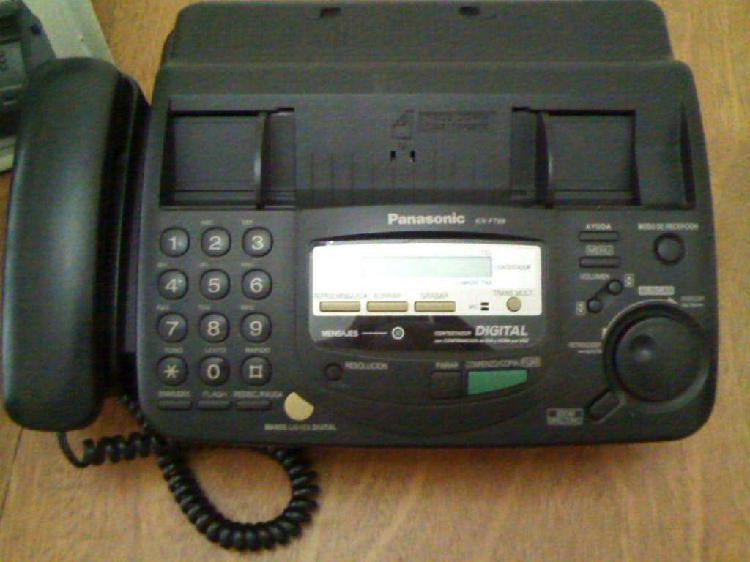 Fax / teléfono / contestadora / impresora panasonic
