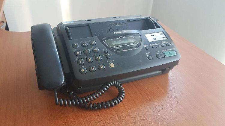 Fax telefono panasonic kx ft22. funciona perfecto. muy buen