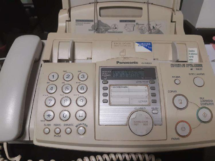 Fax y telefono panasonic fx hd333 usado funciona perfecto