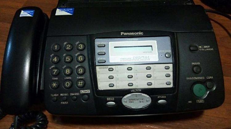 Permuto teléfono fax panasonic funciona perfectamente