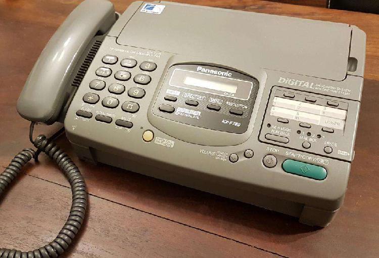Teléfono fax contestador panasonic