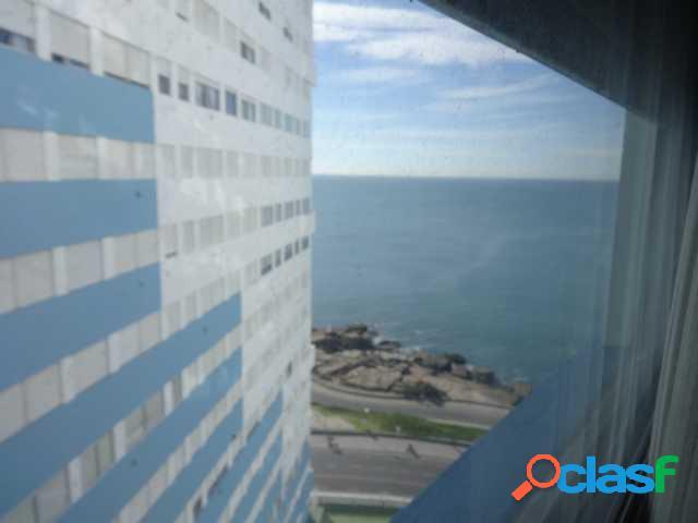 Dto. 3 amb. lateral con vista al mar. 47 m2. - edificio cabo corrientes
