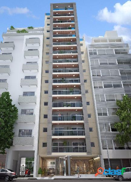 Depto 2 amb a estrenar con balcón y patio. Zona Centro Mar del Plata 2