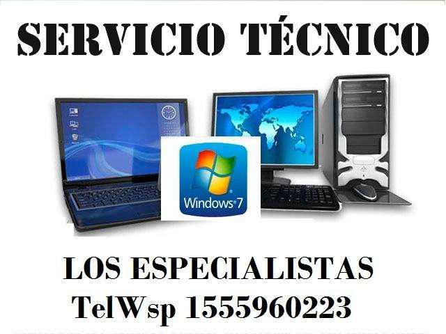 Asistencia computación y electricidad servicio técnico