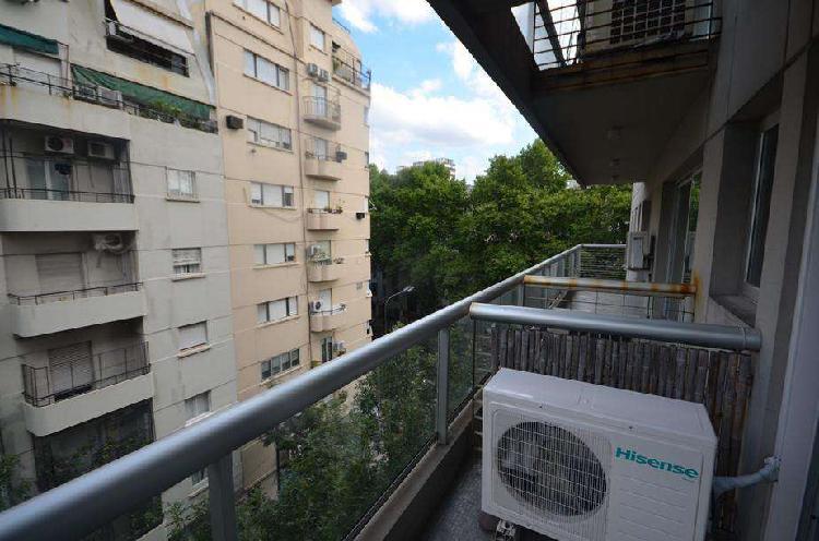 Alquilo temporario en recoleta, 2 ambientes c balcón, 2 pax