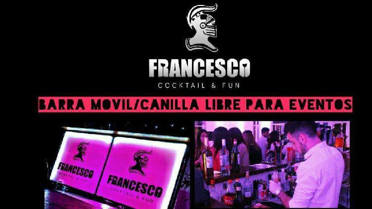 Barra movil/bebidas/inflables/karaoke