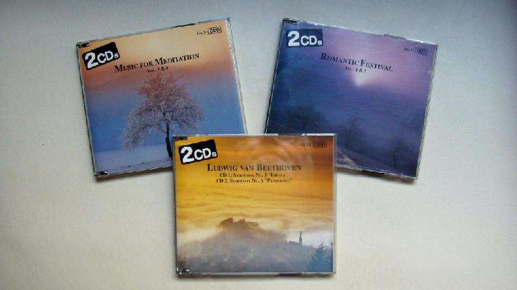 Cds vienna master series de 1993 pilz alemanes