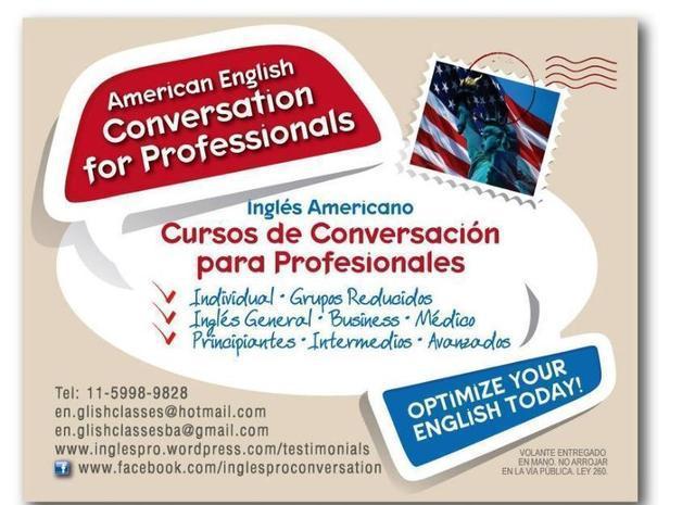 Clases con profesor de ingles americano bilingue