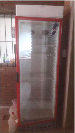 Heladera exhibidora briket master 4200 vertical 392lts