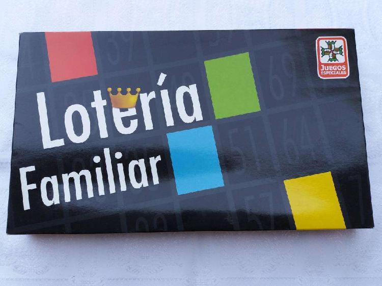 Juegos loteria familiar diversión y entretenimiento