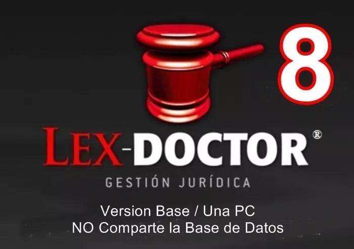 Lex doctor 8 version base para una pc comparte base de datos