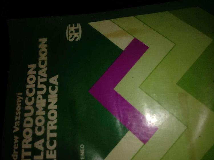Libro introducción a la computación electrónica