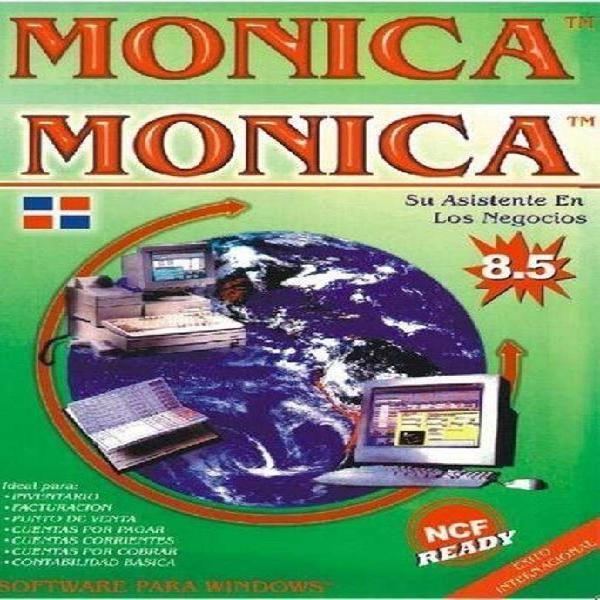 Monica 8.5 gestion y control de venta y stock para comercios