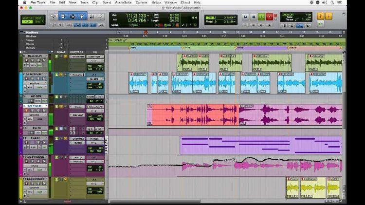 Pro tools le 8 editor de audio profesional chavez