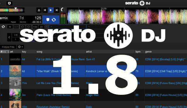 Serato dj 1.8 edita mezcla audio para dj profesional chavez