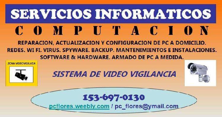 Servicio tecnico computacion reparacion pc, net y not