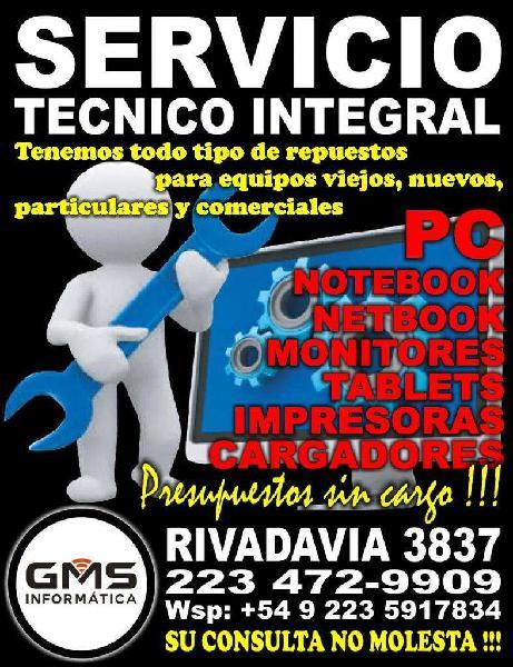 Servicio tecnico computacion !!!! todo en informatica