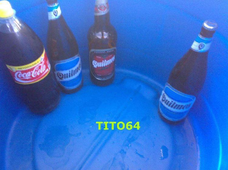Tacho tanque de 110 litros excelente para enfriar bebidas o