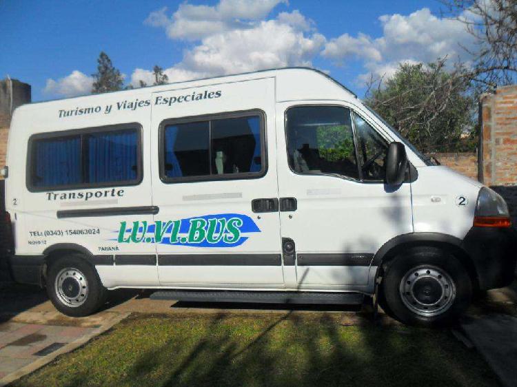 Vendo minibus renault master 151 2011