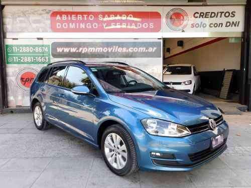 Volkswagen golf variant 1.4 comfortline dsg 2016 rpm moviles