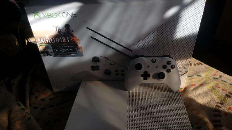 Xbox one s con 27 juegos digitales