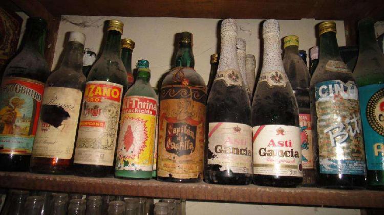 Bebidas antiguas.