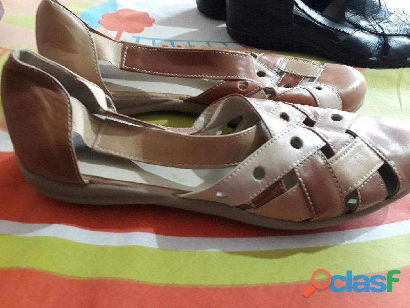Zapatos taco bajo para dama 2