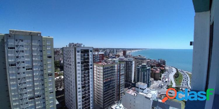 Depto 1 amb y medio - vista al mar - u$s 62.900.-
