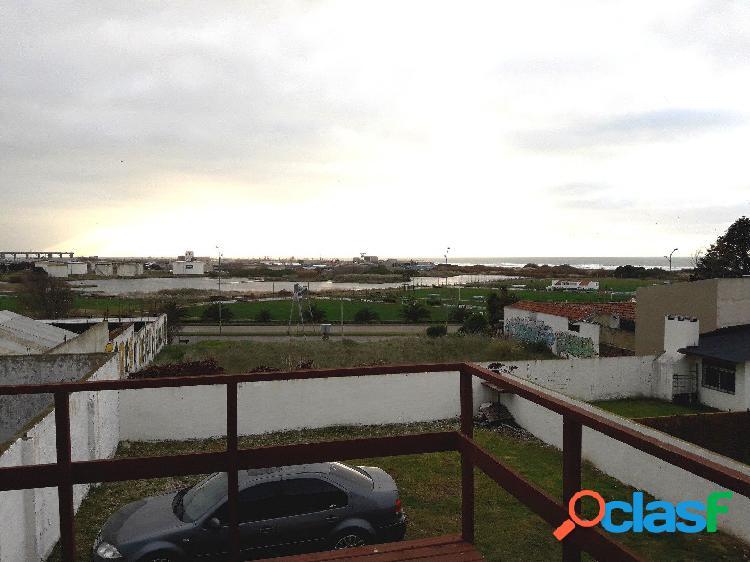 Ph 2 amb. cochera. terraza, vista al mar. punta mogotes.