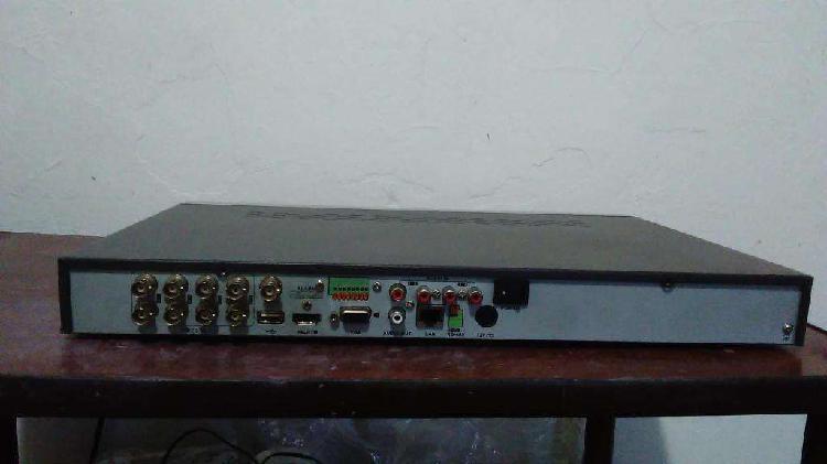 Dvr hikvision modelo ds7208hfisvst. hdmi 8 canales con 3