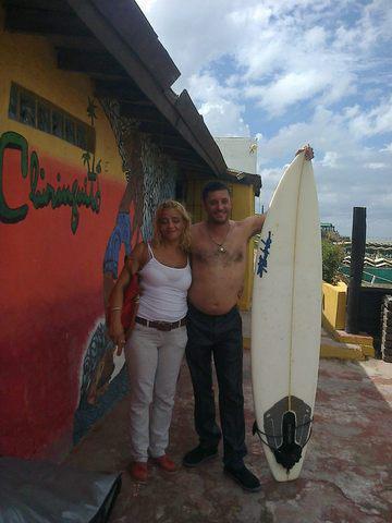 Vendo tabla de surf fandinho