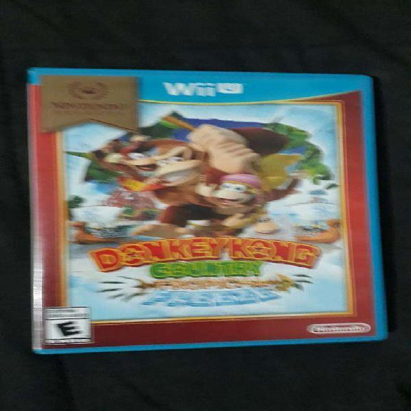 Wii u donkey kong country tropical wiiu