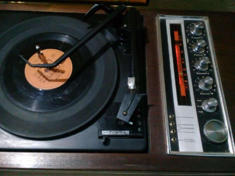 Antiguo combinado ranser. audio stereo 3000. tocadiscos.