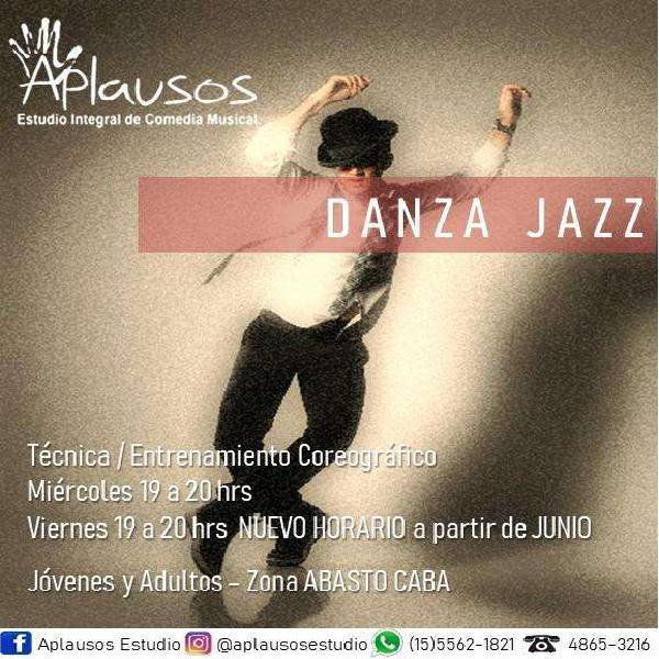 Danza jazz principiantes