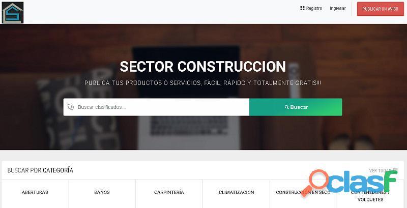 Sector construcción   materiales de construcción al mejor precio!!!
