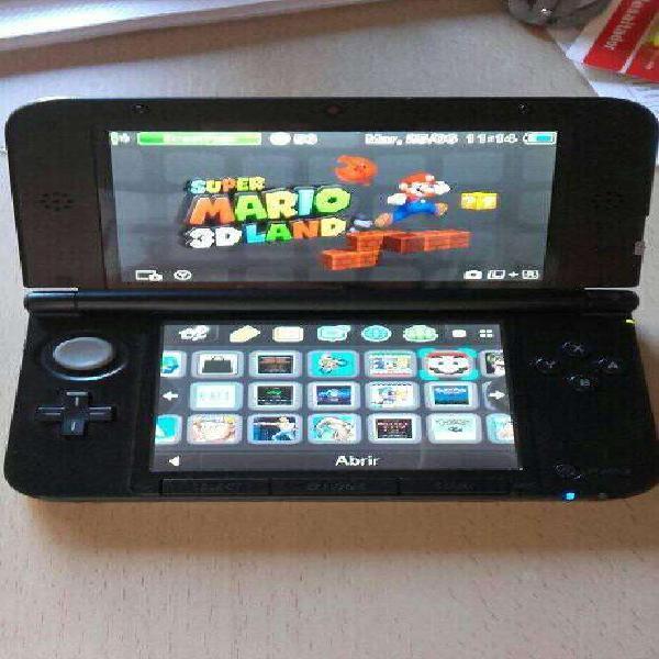Nintendo 3ds xl edicion mario y luigi dream team