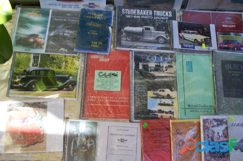 VENTA MANUALES TECNICOS DE AUTOS*PICK UPS NACIONALES 1