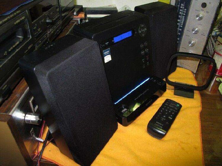 Micro Componente HI FI Sony Modelo CMTLX10R