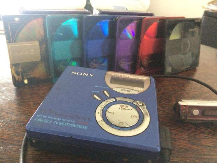 Minidisc Sony 16 discos Mini Disc